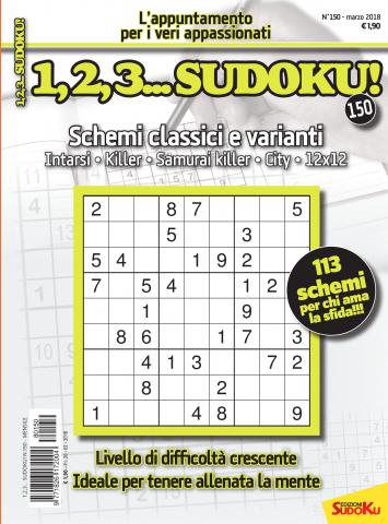copertina 123 sudoku