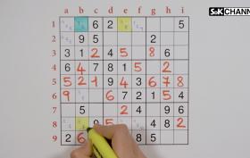 Tecnica colori sudoku