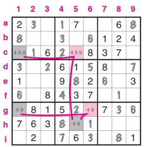 Mancuso Tecnica colori sudoku